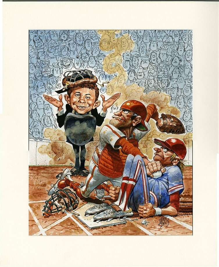 Jack Davis' work for Mad magazine is among the pieces on display at the Cartoon Art Museum. Photo: Cartoon Art Museum