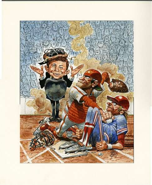Jack Davis' work for Mad magazine is among the pieces on display at the Cartoon Art Museum.