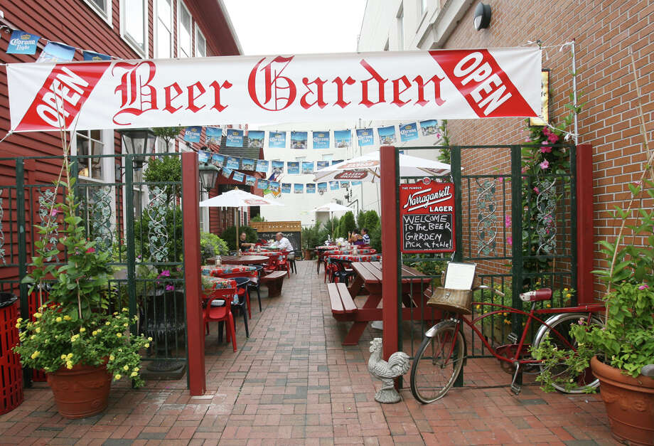 The Firehouse Deli in Fairfield has opened a beer garden that opens two nights a week. Photo: Unknown, File Photo / Connecticut Post freelance B.K. Angeletti