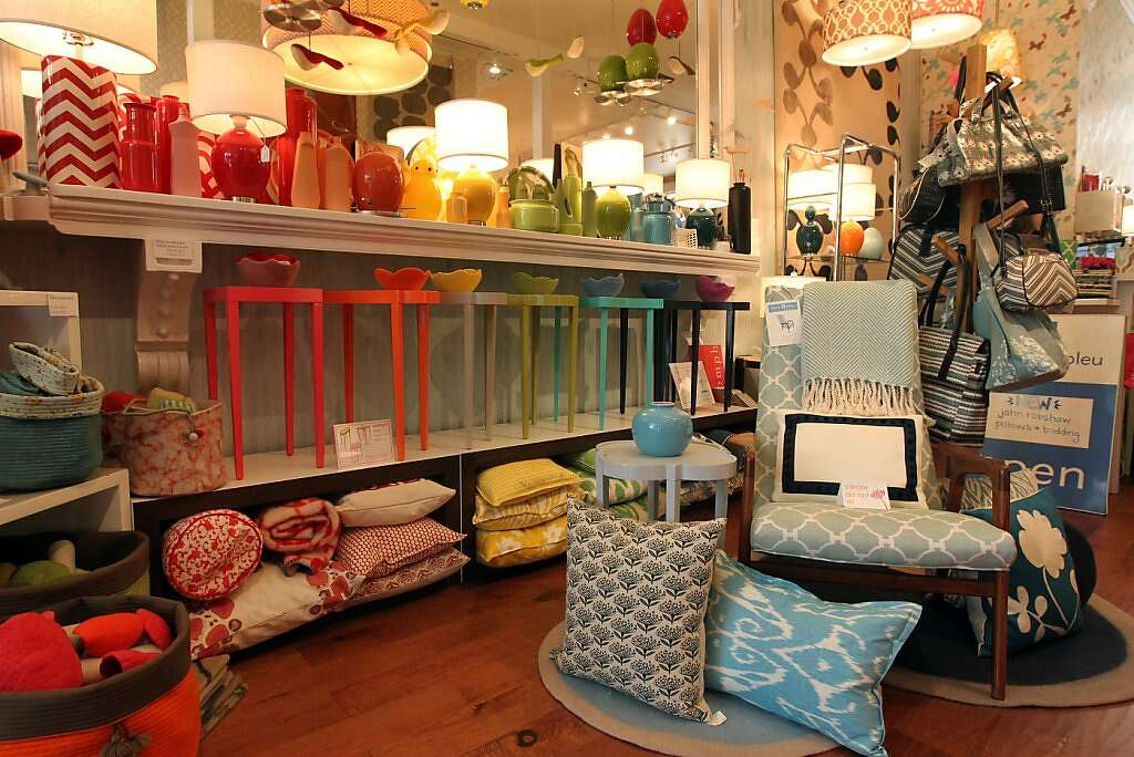 Lotus Bleu This Storefront For Owner Jeannie Fraises Interior Design Studio Next Door