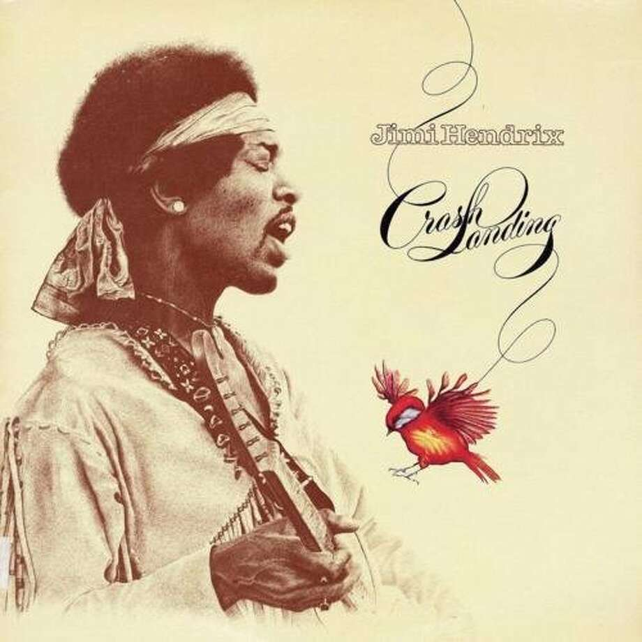 "Jimi Hendrix, ""Crash Landing"" (1975): Released five years after the great guitarist's death."