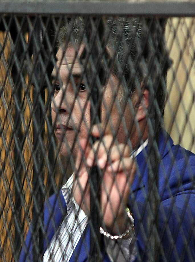 Talk show host Tawfiq Okasha is accused of inciting the killing of President Mohammed Morsi. If convicted, he would face up to three years in prison. Photo: Ahmed Mahmud, AFP/Getty Images