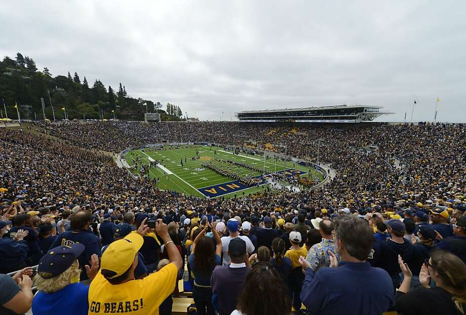 UC Berkeley spent $321 million to rebuild Memorial Stadium, but its location makes it a tough sell to out-of-towners. Photo: Thearon W. Henderson, Getty Images