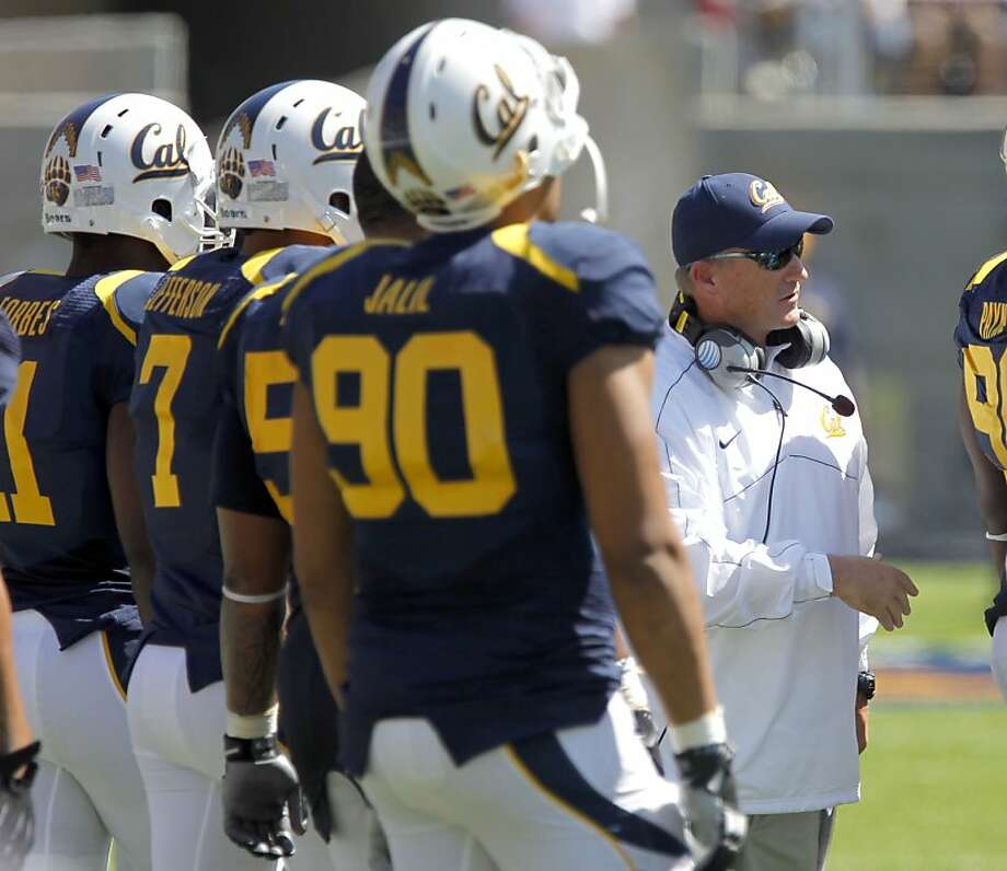 Berkeley head coach Jeff Tedford on the sidelines as the California Bears lose to the University of Nevada 31-24 at the newly renovated Memorial Stadium on Saturday September 1, 2012, in Berkeley, Calif. Photo: Michael Macor, The Chronicle
