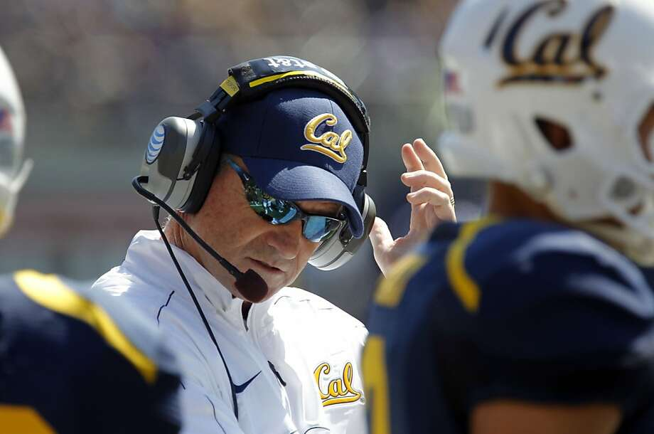 Cal's head coach Jeff Tedford near the end of the game, as the California Bears lose to the University of Nevada 31-24 at the newly renovated Memorial Stadium on Saturday September 1, 2012, in Berkeley, Calif. Photo: Michael Macor, The Chronicle