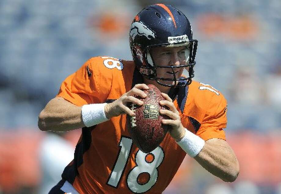 at Den, Week 3, Sept. 23 ,3:25 p.m., CBSDen 41, Hou 21Record: 2-1In his best performance to date, Peyton Manning throws three touchdown passes and the Broncos escape with a close victory. (AP)