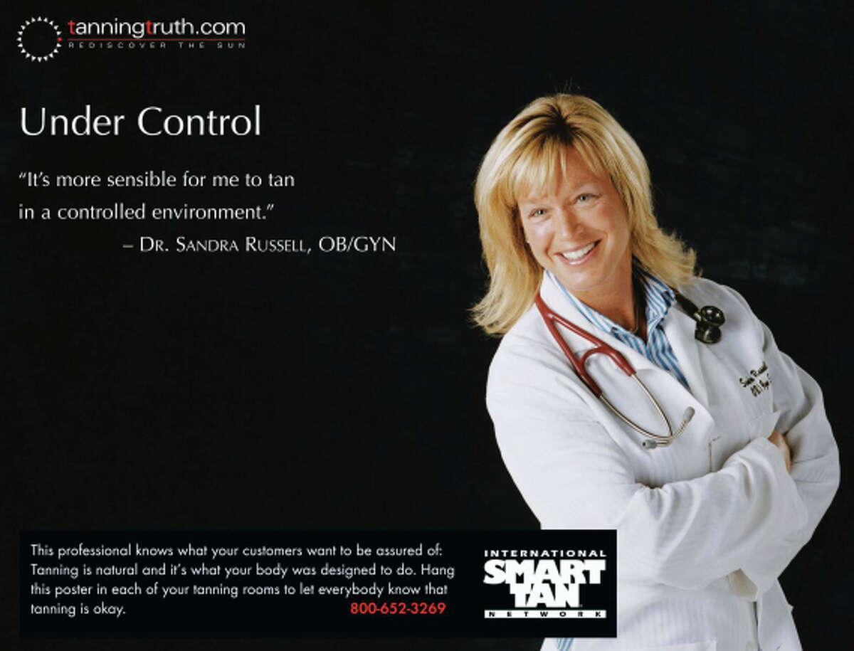 Poster from the International Smart Tan Network. (FairWarning)