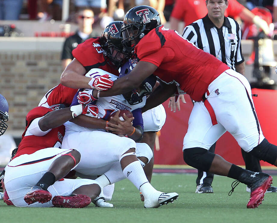 After a dismal end to the 2011 season, the Texas Tech defense dominated the opener by limiting Northwestern State to 84 yards. Zach Long/AP/Lubbock Avalanche-Journal Photo: Zach Long, Associated Press / Lubbock Avalanche-Journal