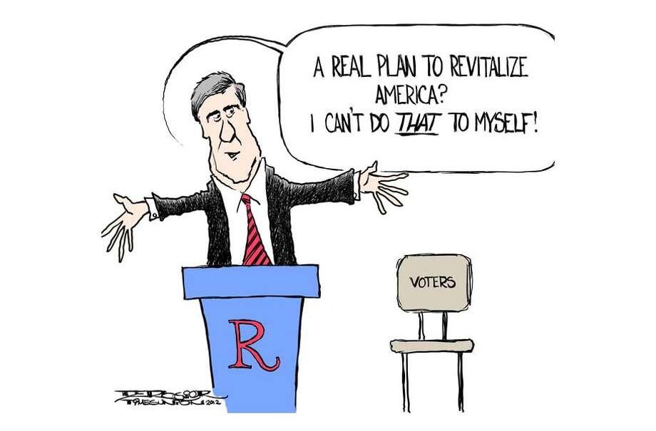 Mitt Romney lacks real plan to revitalize America Photo: John De Rosier