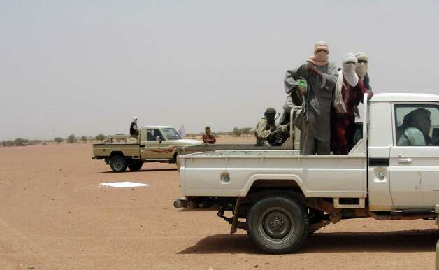 Fighters from the Islamic group Ansar Dine took over northern Mali in the spring after a military coup left the army unable to defend the region. Photo: Romaric Ollo Hien, AFP/Getty Images / AFP