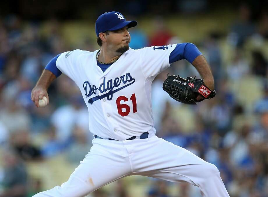Josh Beckett Photo: Stephen Dunn, Getty Images