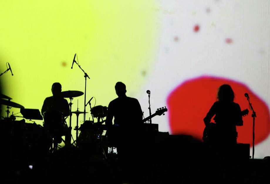 Gotye performs live inside KeyArena. Photo: Sofia Jaramillo / SEATTLEPI.COM