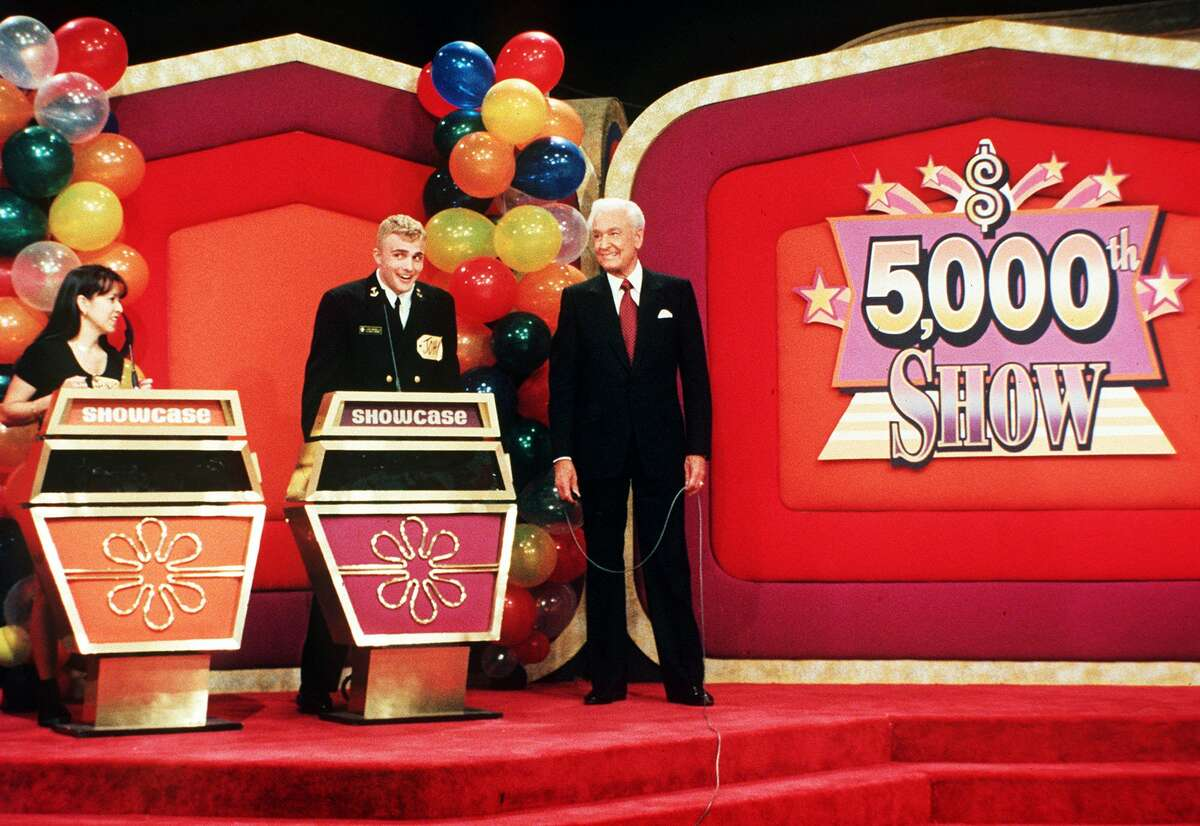 Bob Barker was the show's host for 35 years, from its 1972 debut on CBS (in its current form) to his last episode in 2007. Here's Barker in 1998 hosting his 5,000th episode.