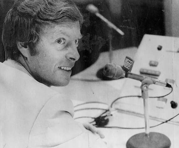 Joe Starkey in 1977, after he briefly left the Bay Area to broadcast for the Minnesota Vikings. Photo: Associated Press