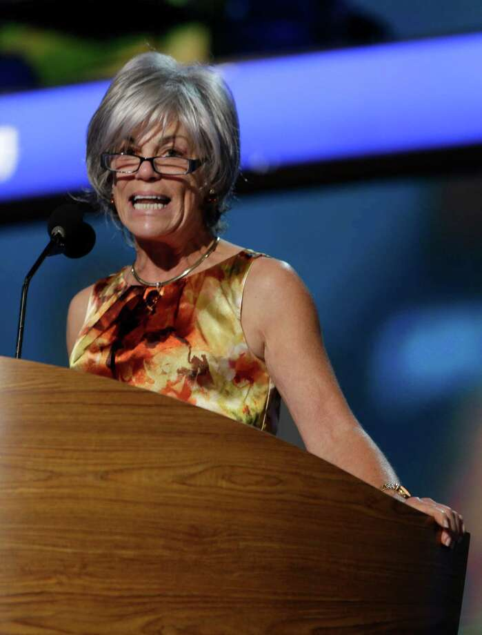 Alice Germond, secretary of Democratic National Committee runs a roll call rehearsal at the Democratic National Convention in Charlotte, N.C., on Sunday, Sept. 2, 2012. (AP Photo/Lynne Sladky) Photo: Lynne Sladky