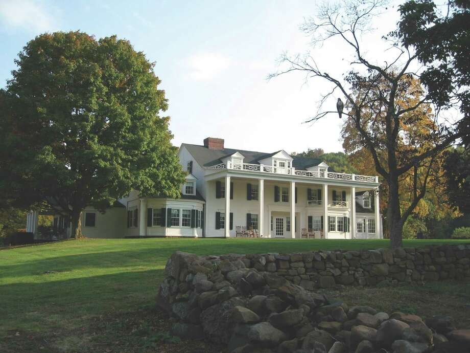 The 1901 Hill-Stead Museum, in Farmington, was designed by Theodate Pope, who was among a small group of America's first women architects. The photo was taken by Dr. James O'Gorman, who will give a lecture on Pope in Norwalk on Sept. 12. Photo: Contributed Photo