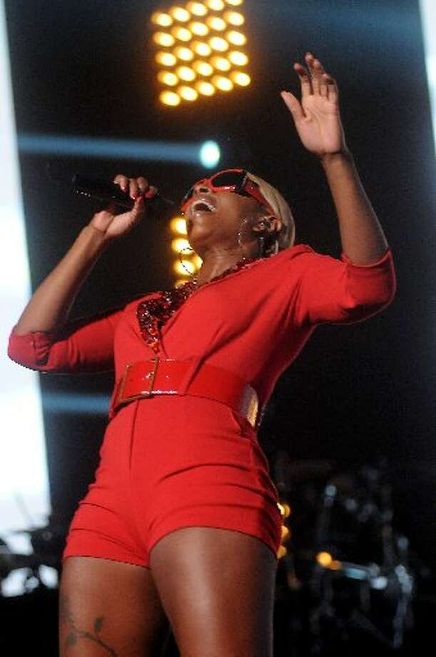 "Mary J. Blige's ""Liberation Tour"" stopped at Toyota Center. Blige is one of R&B's top performers."