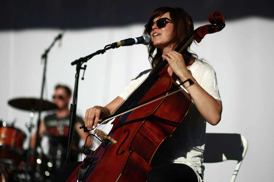Musicians perform with vocalist Katie Herzig during Bumbershoot. Photo: JOSHUA TRUJILLO / SEATTLEPI.COM