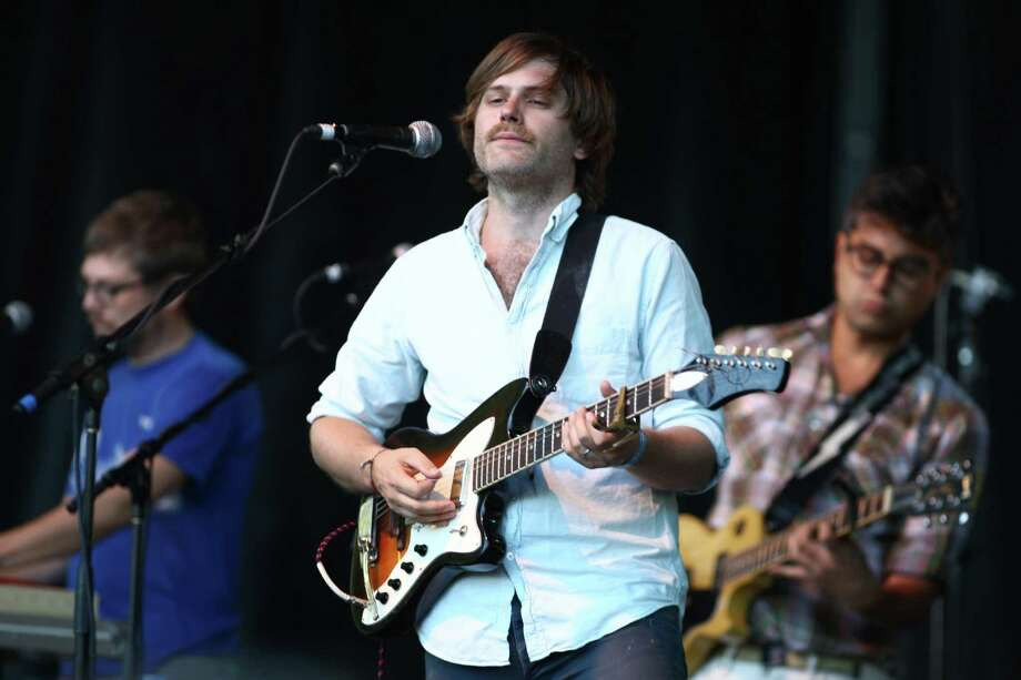 Eric Johnson of the band Fruit Bats performs on the Sub Pop Stage. Photo: JOSHUA TRUJILLO / SEATTLEPI.COM