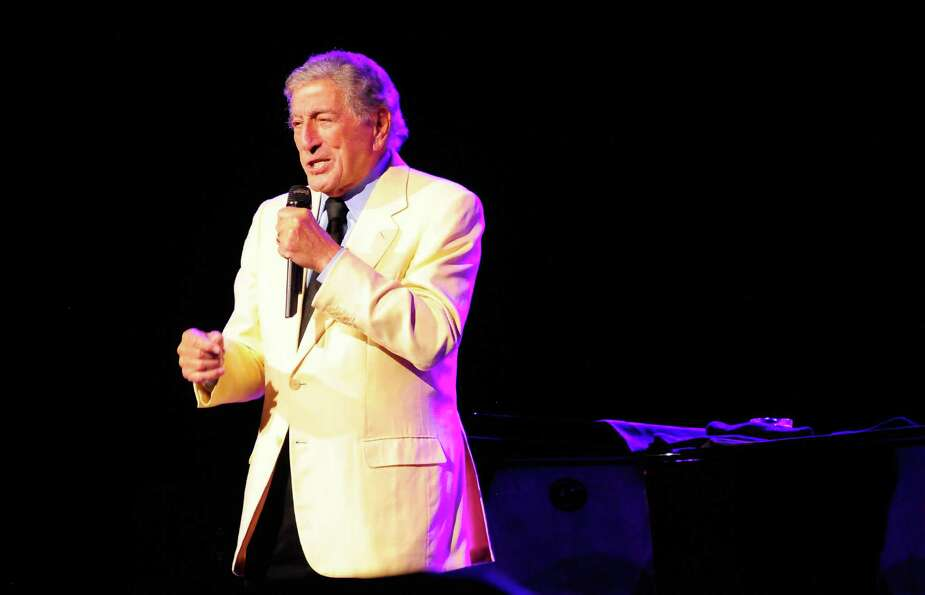 Longtime musician Tony Bennett performs at KeyArena.