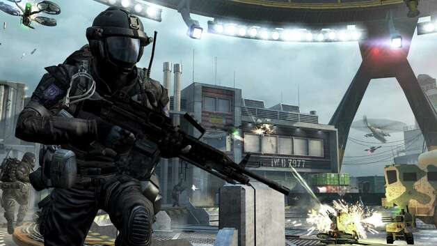 """Call of Duty: Black Ops 2"" is among games to be released before Christmas. Photo: Activision"