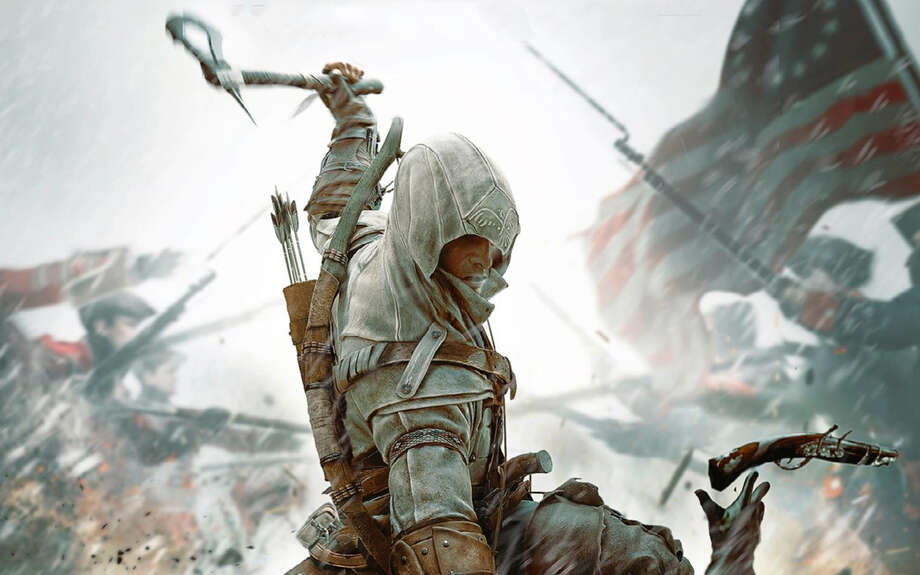 "A recent GameStop Expo at the Convention Center introduced gamers to upcoming titles such as ""Assassin's Creed III."" Photo: Courtesy Photo / © 2012 Ubisoft Entertainment. All Rights Reserved. Assassin's Creed, Ubisoft, and the Ubisoft logo are trademarks of Ubisoft Ent"