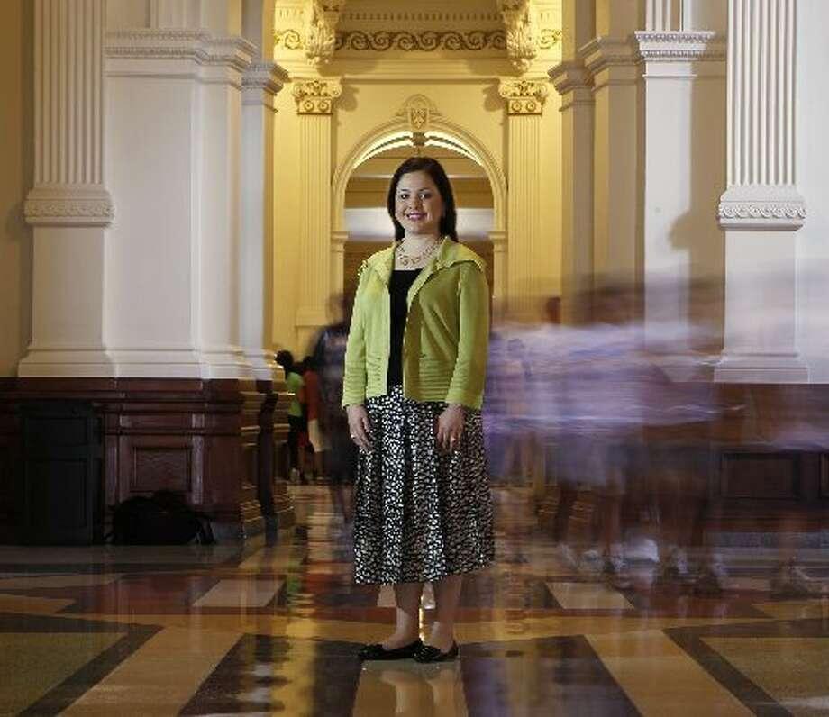 State Rep. Ana Hernandez Luna, 34, Democrat, Texas (Erich Schlegel / Houston Chronicle)