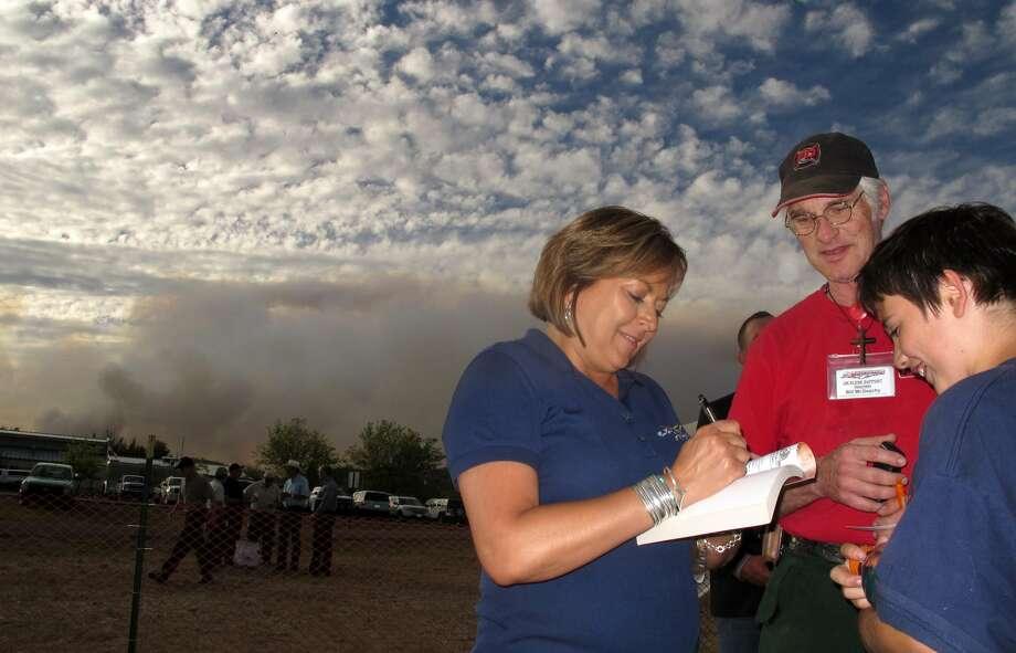 Gov. Susana Martinez, 53, Republican, New Mexico (Juan Carlos Llorca / AP)