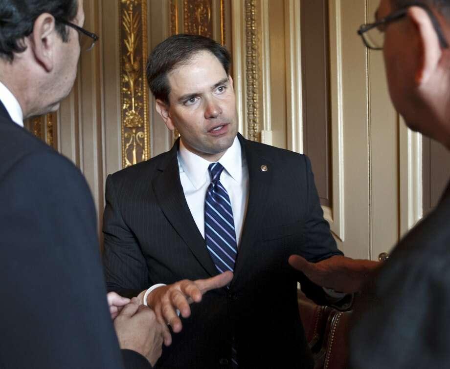 U.S. Sen. Marco Rubio, 41, Republican, Florida (J. Scott Applewhite / AP)