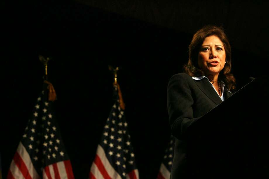 U.S. Labor Secretary Hilda Solis, 54, Democrat, California (Billy Smith II / Houston Chronicle)