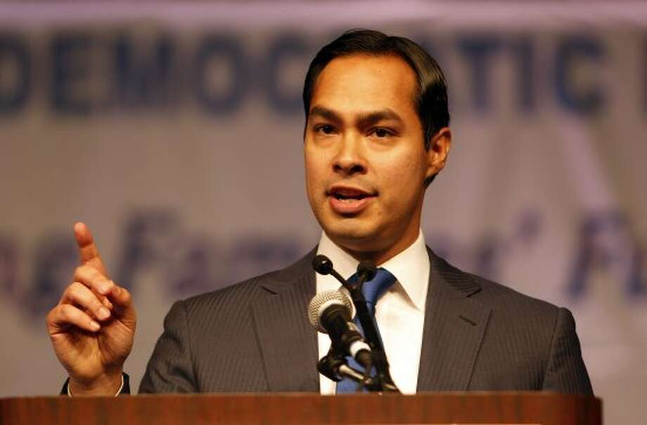 San Antonio Mayor Julian Castro during the the 2012 Texas Democratic Party State Convention at the George R. Brown Convention Center Friday, June 8, 2012, in Houston.( James Nielsen / Chronicle ) (James Nielsen / Chronicle)