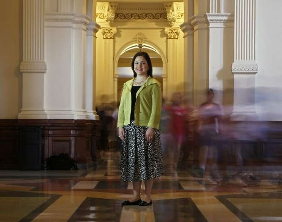 3/12/11 -  Rep. Ana Hernandez Luna, D-Houston at the State Capitol in Austin, Texas Thursday May 26, 2011. (Erich Schlegel/Special Contributor) (Erich Schlegel / Houston Chronicle)
