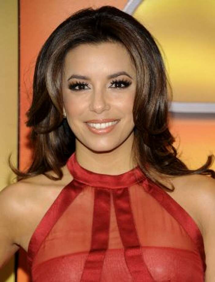 """Ready For Love"" star Eva Longoria arrives for the NBC network upfront presentation at Radio City Music Hall, Monday, May 14, 2012 in New York. (AP Photo/Evan Agostini) (Evan Agostini / Associated Press)"
