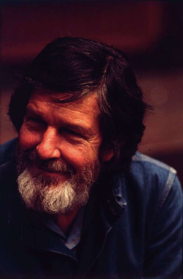 1972:  John Cage (1912 - 1992) composer and writer about  music. A pupil of Schoenberg. Considered an 'ultra' modernist who also used silence as part of a composition.  (Photo by Erich Auerbach/Getty Images) Photo: Erich Auerbach / Hulton Archive