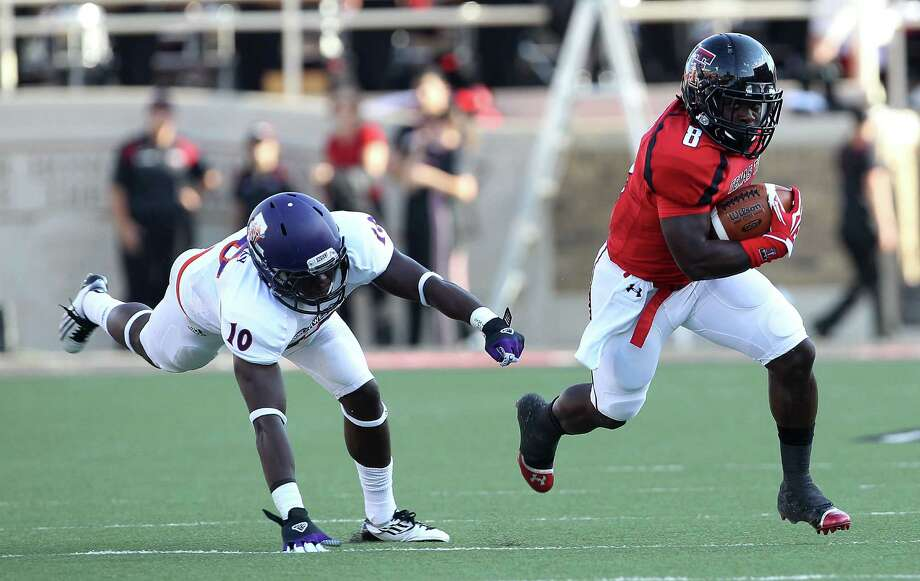5. Texas Tech (1-0) at Texas State:Looked solid against Northwestern State, although they could be charging into a hornets' nest at Bobcat Stadium.  Photo: Zach Long, Associated Press / Lubbock Avalanche-Journal