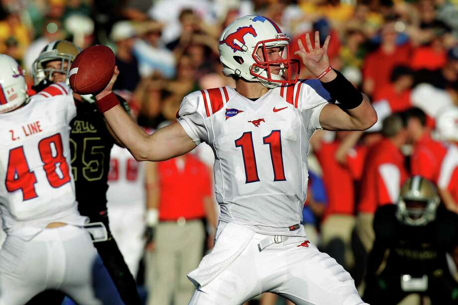 11. SMU (0-1) vs. Stephen F. Austin: Garrett Gilbert's tenure started with two tipped passes at the line of scrimmage and didn't get much better in a loss to Baylor. LM Otero/Associated Press Photo: LM Otero, Associated Press / AP