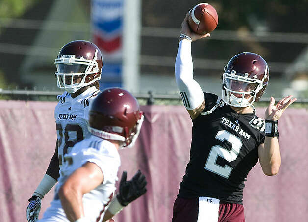 Texas A&M quarterback Johnny Manziel. Photo: Associated Press