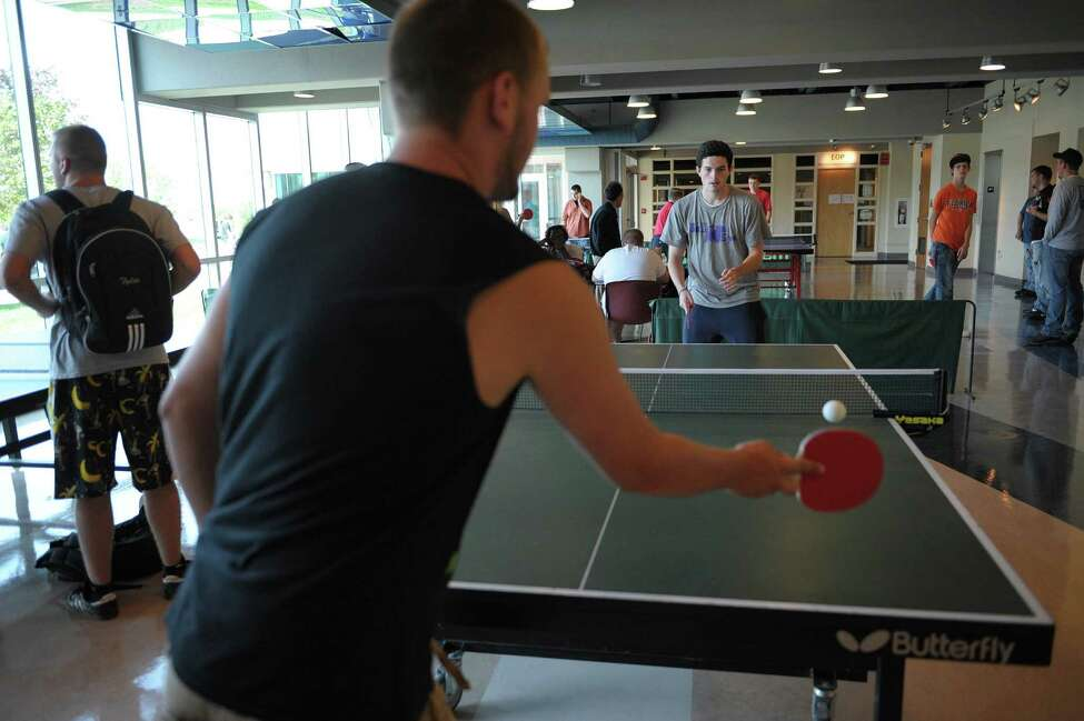 Ping Pong (Adults), Rudy A. Ciccotti Recreation Center, June 7 - August 3, Tuesdays and Thursdays. Test your reflexes and challenge your teammates on the center's two new ping pong tables. Learn more.