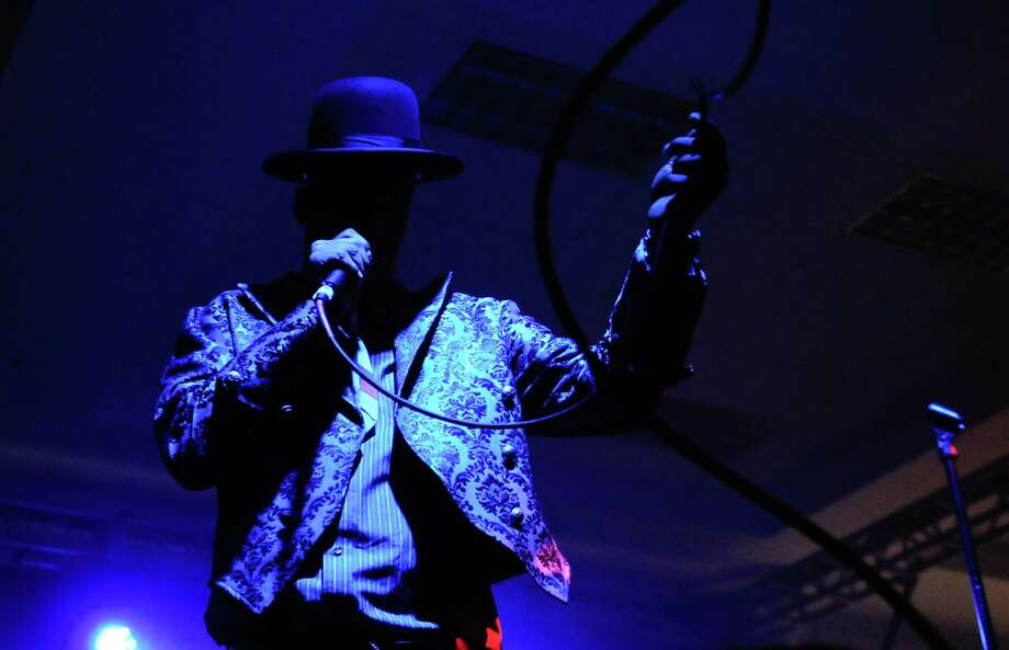 Angelo Moore with Fishbone performs on the Exhibition Hall Stage. Photo: LINDSEY WASSON / SEATTLEPI.COM