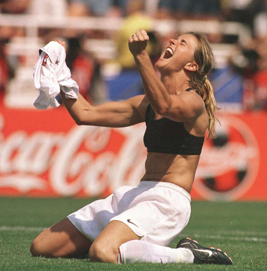 Brandi Chastain, World Cup star, started her career at Archbishop Mitty High in San Jose and attended both Cal and Santa Clara University before becoming an international celebrity.