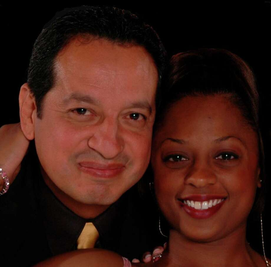 Roger Tamez and Wednesday Ball, leaders of the new San Antonio party band The Show. Photo: Courtesy Photo