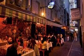New chef Jason Tuley Gitane helms the romantic restaurant tucked away on Claude Lane in S.F.