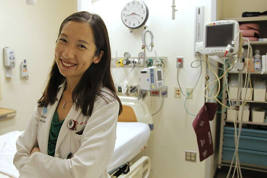 Leana Wen chose emergency medicine because the hours are more flexible than in primary care. Photo: Steven Senne, Associated Press