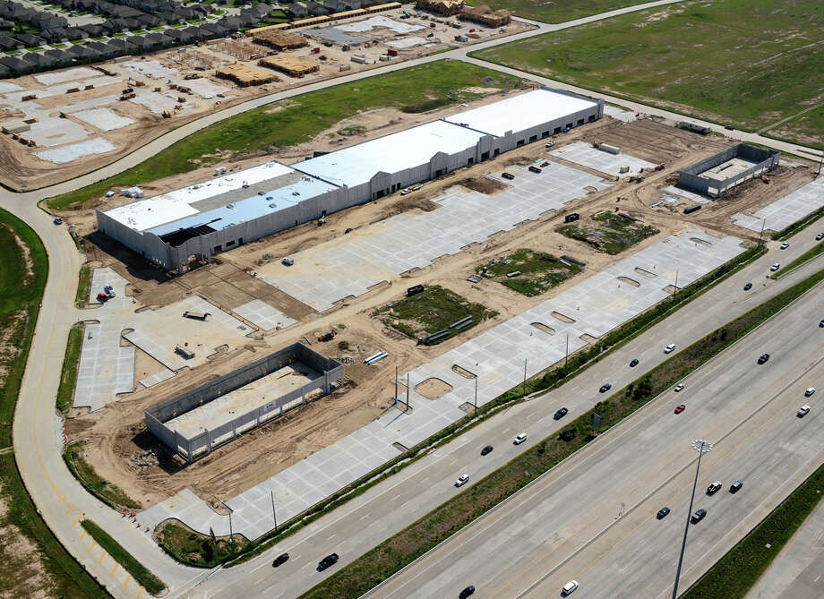 Here's an aerial view of Katy Ranch Crossing.