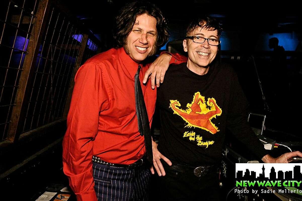 New Wave City DJs Skip and Shindog, Grant Medeiros and Steve Indig.