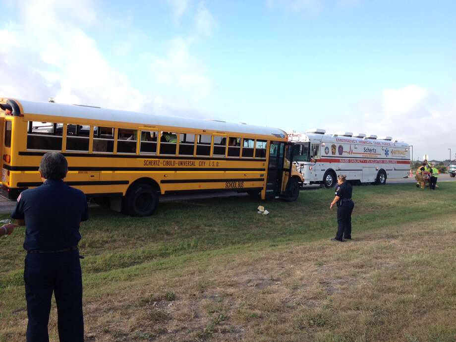 The Ambus – also known as the Mass Casualty Evacuation Ambulance – was requested at the bus wreck due to the large number of patients, according to Schertz EMS Director Dudley Wait. Photo: Courtesy Photo: Courtesy