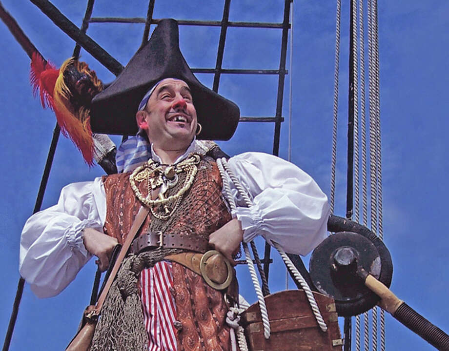 Billy Bones will give a pirating lesson on Sept. 15 at the Maritime Aquarium. Photo: Contributed Photo