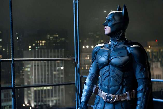 "Christian Bale in ""The Dark Knight Rises"": A Batman of the apocalypse? Photo: Ron Phillips, Associated Press"