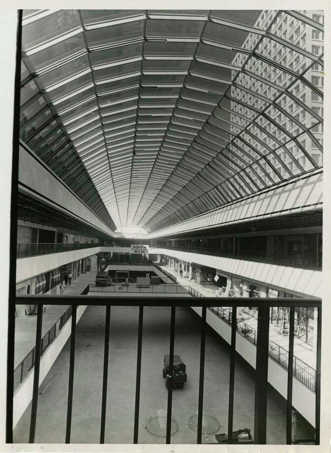The Galleria as it appeared a couple of weeks before it opened Nov. 15, 1970, bringing three levels of shops, galleries and restaurants to Houston. Photo: Chronicle File