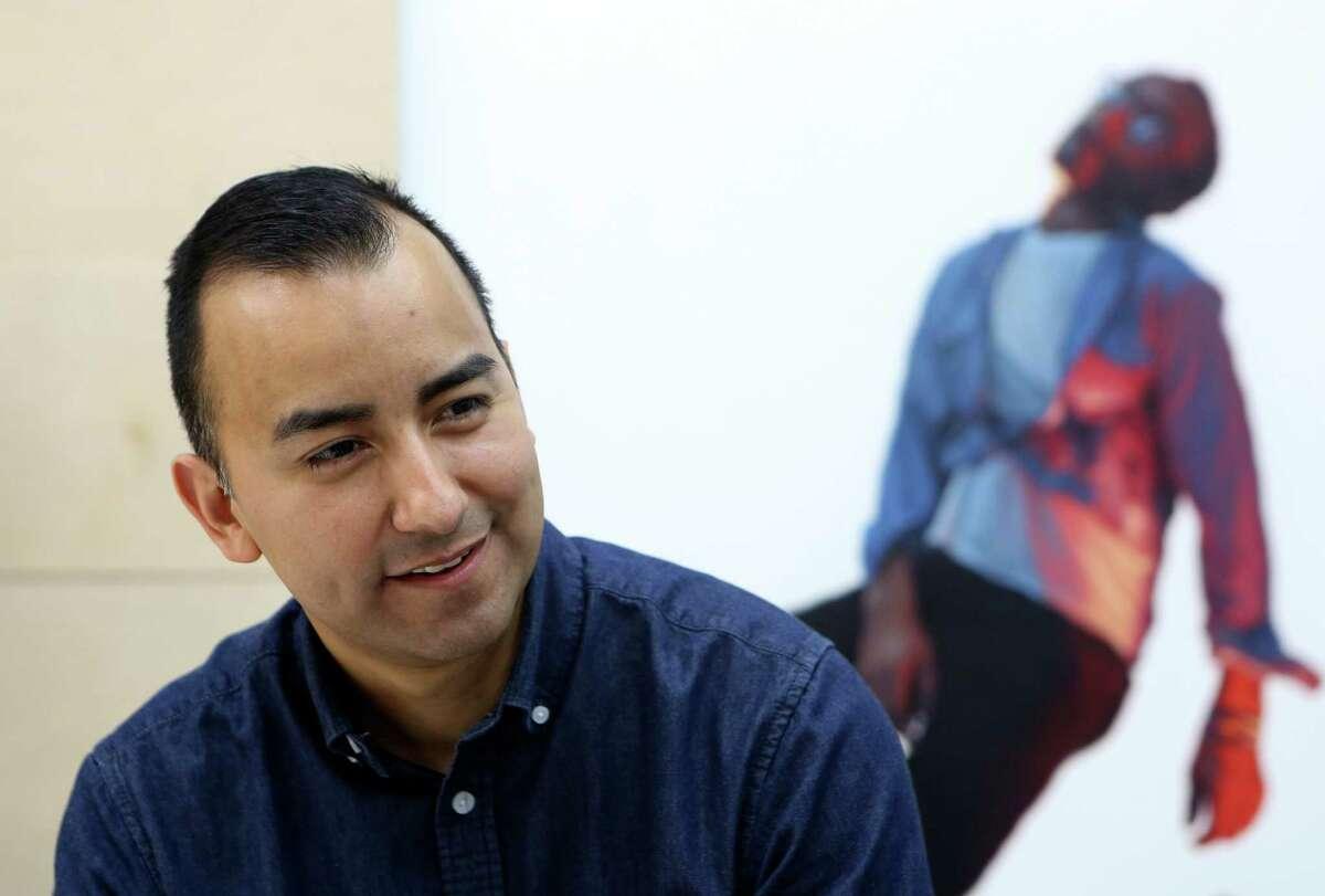 Vincent Valdez is one of three San Antonio artists chosen to take part in